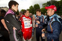 Nicolas Prost, Guillaume Moreau and Tiago Monteiro