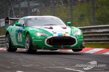 #5 Aston Martin V12 Zagato: Christopher Porritt, Richard Meaden, Peter Cate, Oliver Mathai