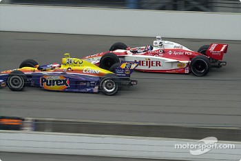 Robbie Buhl and Arie Luyendyk