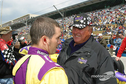 Airton Daré and A.J. Foyt