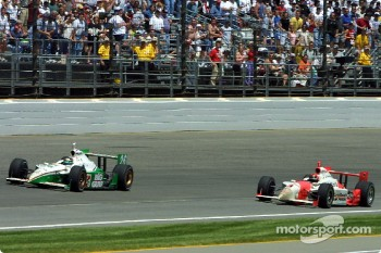 Paul Tracy and Helio Castroneves