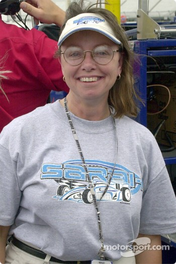 Sarah Fisher's mom