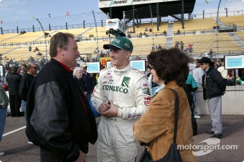 A.J. Foyt IV discusses with Brian Barnhardt