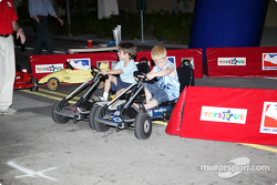 Toyota Indy Feat held in South Beach, Miami: Indy Racing Kids