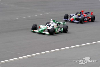 Tony Kanaan and Felipe Giaffone