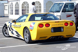 The Corvette pace car