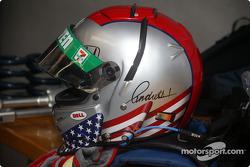 Mario Andretti's helmet