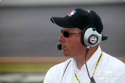 VP of IRL race operations Brian Barnhart