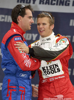Bryan Herta and Dan Wheldon