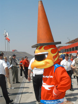 The Firestone Firehawk, conehead?