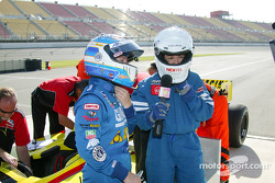 Indy Experience two-seater IndyCar: Sarah Fisher and Melissa Hart