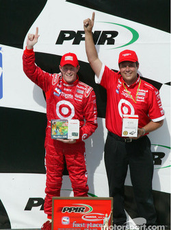 Scott Dixon and Target Chip Ganassi Racing car