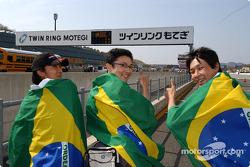 Brazilian drivers fans