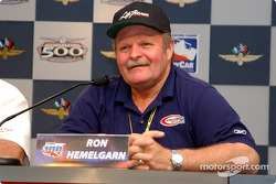 Press conference: Ron Hemelgarn