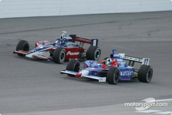 Pace laps: Buddy Rice and Dario Franchitti