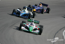 Tony Kanaan, Vitor Meira and Alex Barron