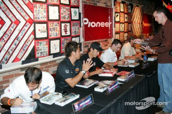 ESPN Zone event: autograph session
