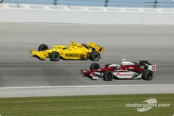 Tomas Scheckter and Tora Takagi