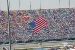 American Flag arrives