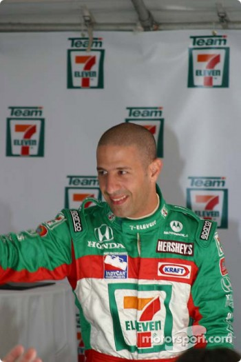 Andretti Green Racing press conference: Tony Kanaan