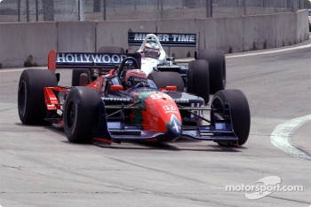 Tony Kanaan and Max Papis