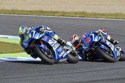 Aleix Espargaro, Team Suzuki Ecstar MotoGP;, Maverick Viñales, Team Suzuki Ecstar MotoGP