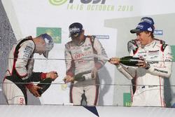 Podium: 1. #6 Toyota Racing, Toyota TS050 Hybrid: Stéphane Sarrazin, Mike Conway, Kamui Kobayashi, 2. #8 Audi Sport Team Joest, Audi R18 e-tron quattro: Lucas di Grassi, Loic Duval, Oliver Jarvis, 3. #1 Porsche Team, Porsche 919 Hybrid: Timo Bernhard, Mark