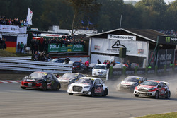 Start action, Petter Solberg, Petter Solberg World RX Team leads