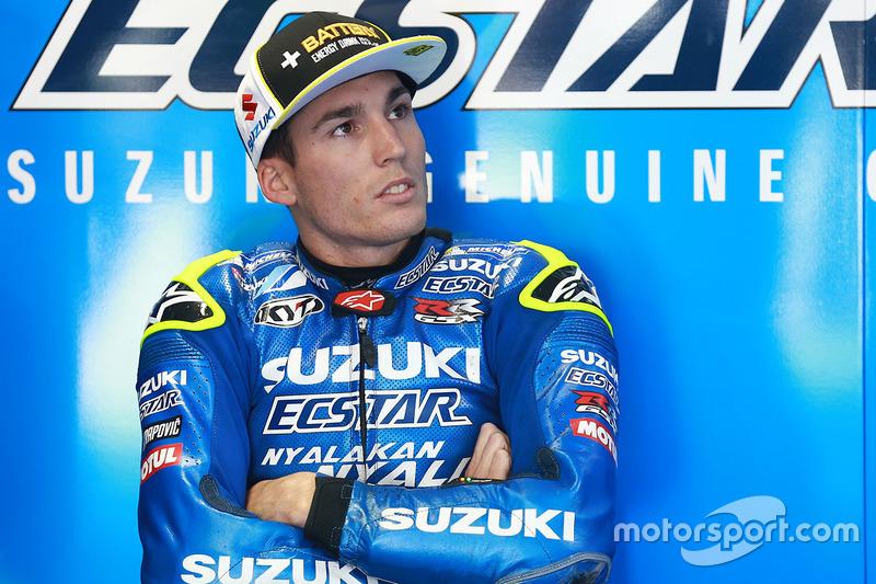 OUT: Aleix Espargaro, Team Suzuki MotoGP