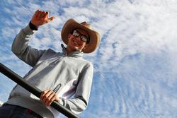 Esteban Ocon, Manor Racing bei der Fahrerparade