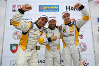 VLN Photos - Podium: Champions Opel Astra OPC Cup: Marcel Hartl, Glib Kutepov, David Griessner