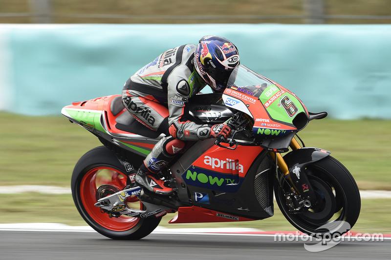 16. Stefan Bradl, Aprilia Gresini Racing Team