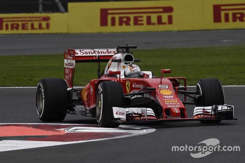 7. Sebastian Vettel, Ferrari SF16-H