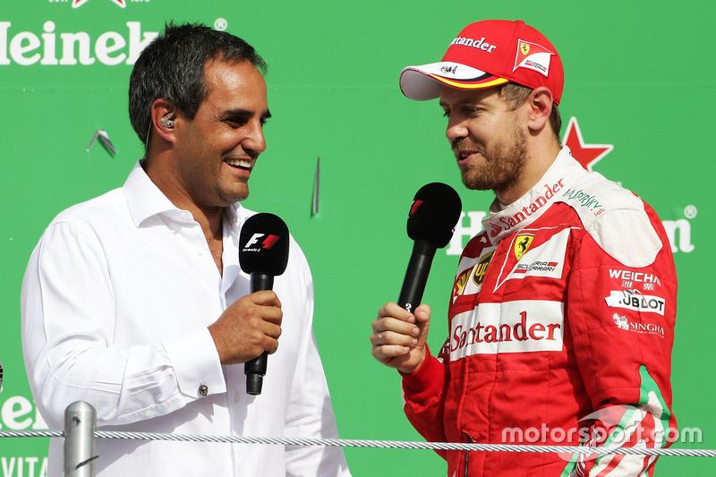Juan Pablo Montoya, Sebastian Vettel, Ferrari