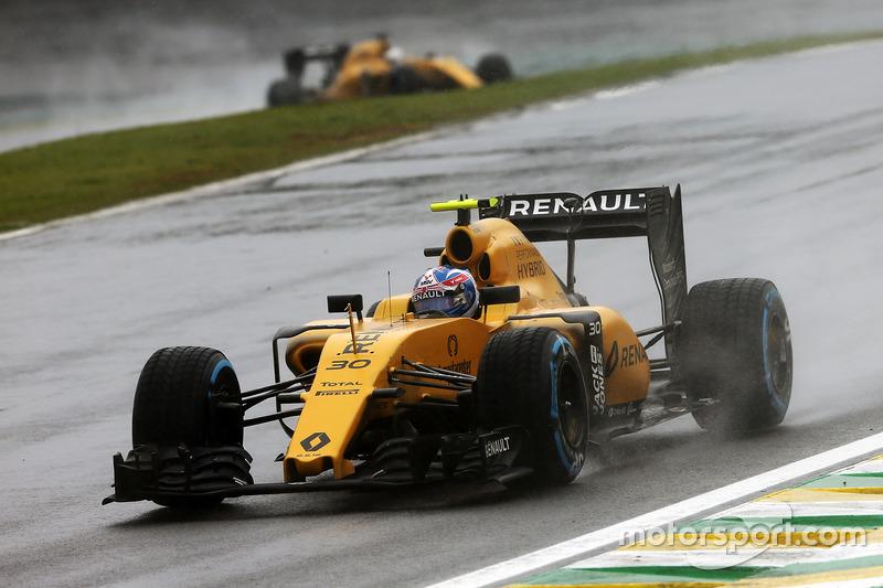 Ausfall: Jolyon Palmer, Renault Sport F1 Team RS16