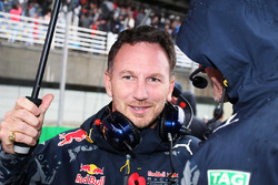 Christian Horner, Red Bull Racing Team Principal on the grid