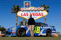NASCAR Sprint-Cup Fotos - Jimmie Johnson, Hendrick Motorsports, Chevrolet, in Las Vegas
