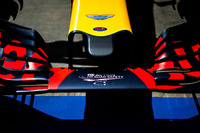 F1 图片 - Aston Martin logo on the Red Bull Racing RB12 nosecone