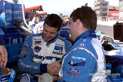 Patrick Carpentier after the race