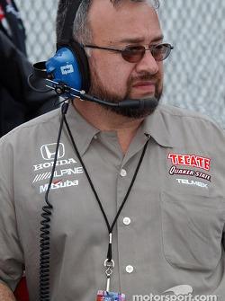 Fernandez Racing team manager Gustavo del Campo