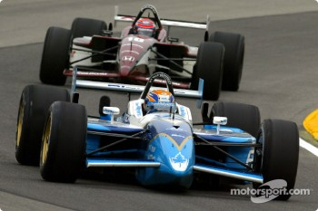 Patrick Carpentier and Tony Kanaan