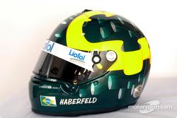 Mario Haberfeld's helmet