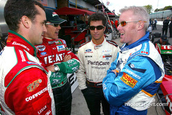 Michel Jourdain Jr., Adrian Fernandez, Bruno Junqueira and Paul Tracy