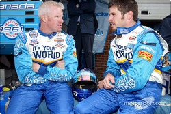 Paul Tracy and Patrick Carpentier