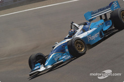 Victory spin for Patrick Carpentier