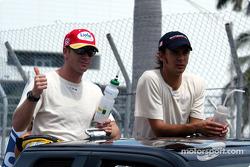 Drivers presentation: Mario Haberfeld and Darren Manning