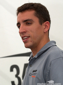 Justin Wilson driver of the #34 Mi-Jack Conquest Racing Lola