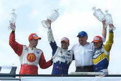 Sébastien Bourdais, Alex Tagliani, Paul Gentilozzi, and Rodolfo Lavin