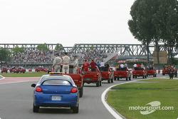 Drivers parade