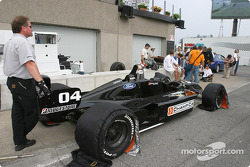 Champ Car 2-seater experience: the 2-seater car ready to go